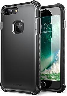 i-BLASON iPhone7 Plus ケース 衝撃吸収 アイフォンカバー 米軍MIL規格取得 全面保護 (ブラック)
