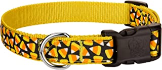 Country Brook Design - Deluxe Candy Corn Ribbon Dog Collar