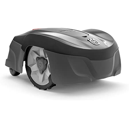 Husqvarna Automower 115H Robotic Lawn Mower, 115H-Mows Up to 0.4 Acres, Gray