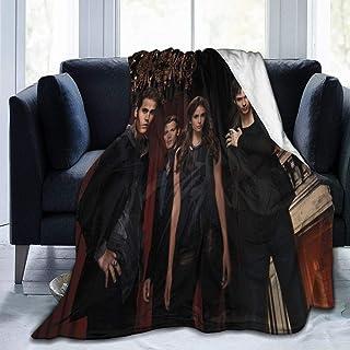 "JMIA The Vampire Diaries Soft and Warm Throw Blanket Ultra-Soft Micro Fleece Blanket(50"""""""" x40,60 x50, 80"""""""" x60)"