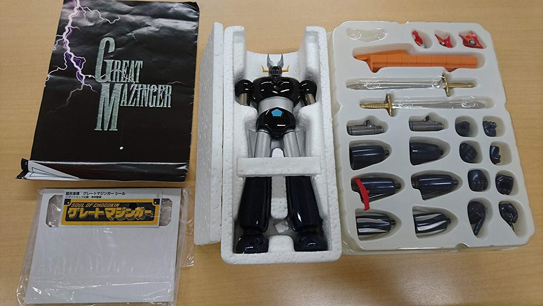 Bandai Chogokin GX02 Great Mazinger Grande Mazinga various parts