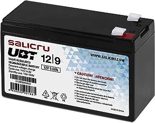 Salicru 013BS000002 - Batería PBCA AGM 5Y 12V/9Ah 151X65X100MM (Android), Negro