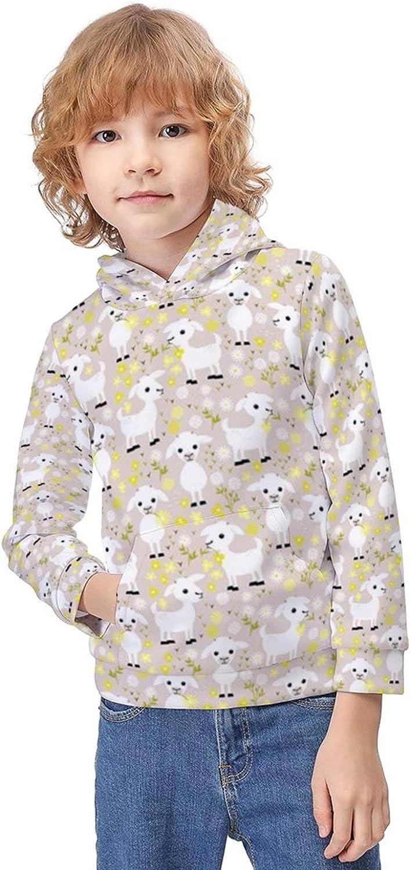 ODOKAY Unisex Kids Pullover Hooded Printed Teens Sweatshirt Long Sleeve Fall Hoodies