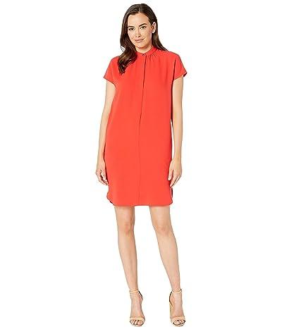 LAUREN Ralph Lauren Crepe Shift Dress (Pink) Women