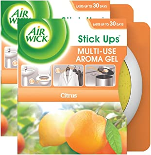 Air Wick Stick Ups Multi-Use Aroma Gel Value Pack, Citrus, 2ct