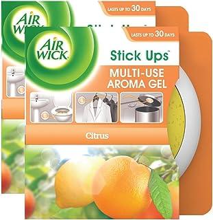 Air Wick Stick Ups Multi-Use Aroma Gel Value Pack, Citrus, 2ct