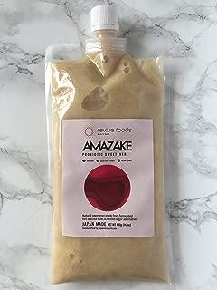Amazake Probiotic Rice Sweetener Made from Japan, Rice & Koji, 14.1 oz per pack, 4-Pack