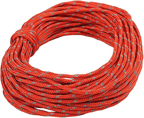 new arrival Larcele sale 50 Feet Reflective new arrival Nylon Rope Camping Tent Guy Ropes HWFS-01(Red) online sale