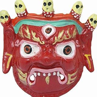 Divya Mantra Traditional Nazar Katta Mahakal Evil Eye Protector Vastu Wall Hanging Mount/Tibetan Buddhism Feng Shui Art An...