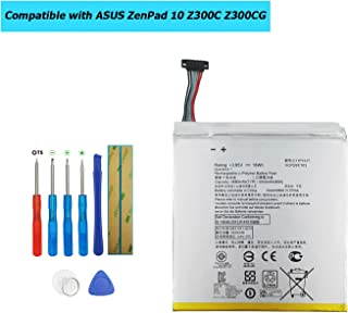 Upplus C11P1517 Replacement Battery Li-Polyme Compatible with ASUS ZenPad 10 Z300C Z300CG Z300CX P023 Tab with Toolkit