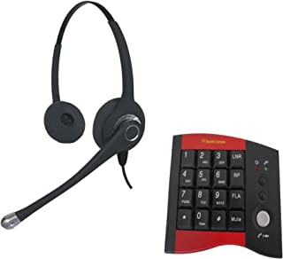 Ultra Binaural Headset with HP100 Dial pad
