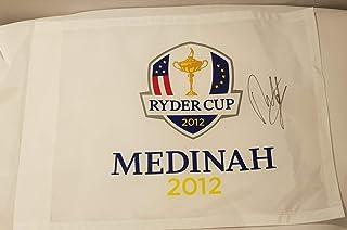 Ryder Cup 2012 – Medinah Country Club – Bandera de Pin – Firmado por Francesco Molinari