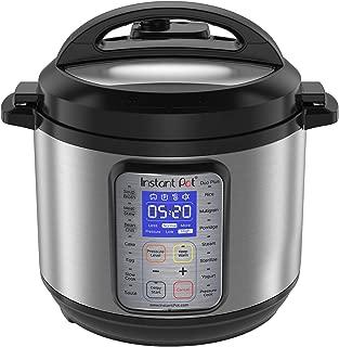 Instant Pot DUO Plus 60, 6 Qt 9-in-1 Multi- Use Programmable Pressure Cooker, Slow Cooker, Rice Cooker, Yogurt Maker, Egg Cooker, Saut, Steamer, Warmer, and Sterilizer (Renewed)