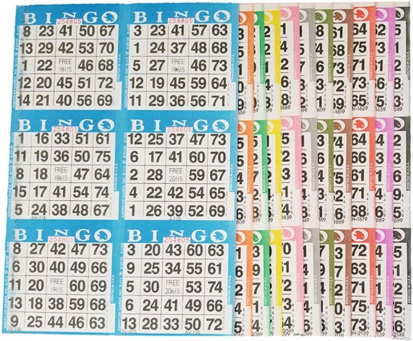 American Games Bingo Paper Game Cards Detroit Mall 6 – Popular overseas Card 10 Bi