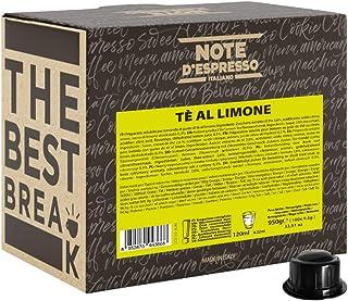 Note d'Espresso - Thé au citron - Dosettes Compatibles avec les Machines CAFFITALY* - 100 caps