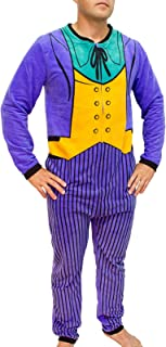 DC Comics The Joker Purple Costume Adult Union Suit