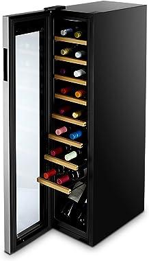 Cuisinart CWC-1800CU Private Reserve Cooler, Black Wine Refrigerator, 18 Bottles