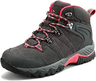 Women's Mid Hiking Waterproof Lightweight Boots | Perfect for Outdoor Backpacking Trekking Lady Hiker Shoe…
