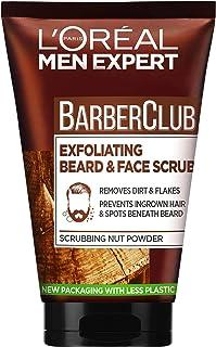 L'Oreal Paris Men Expert Barber Club Exfoliating Beard and Face Scrub, 100ml