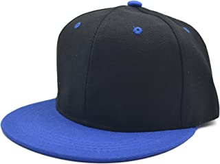Melesh - Plain Trucker Classic Snapback Hats for Men Women Adjustable Autumn Sport Cotton Snapback Baseball Hat Cap