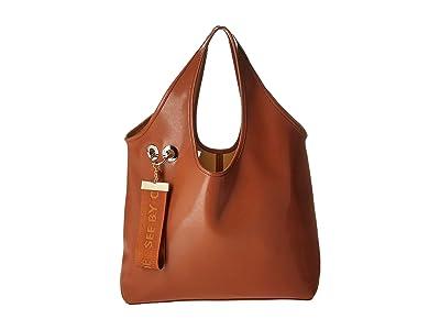See by Chloe Jay Tote (Caramello) Tote Handbags
