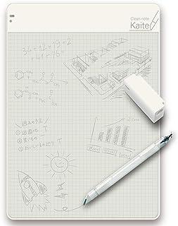 プラス メモパッド クリーンノート Kaite カイテ A4 5mm方眼 KA-002H 428-308