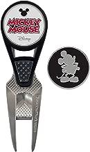 Team Effort Disney Mickey Mouse Golf CVX Ball Mark Repair Tool & 2 Ball Markers, Multi