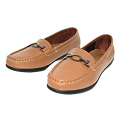 aa3684e72 Gold Toe Womens Tess Buckle Slip On Loafer Flat Memory Foam C ..