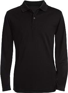 Nautica boys Long Sleeve Polo Polo Shirt