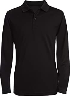 Boys' School Uniform Long Sleeve Polo