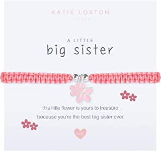 Katie Loxton a Little Girls Family Stretch Adjustable Band Fashion Charm Bracelet