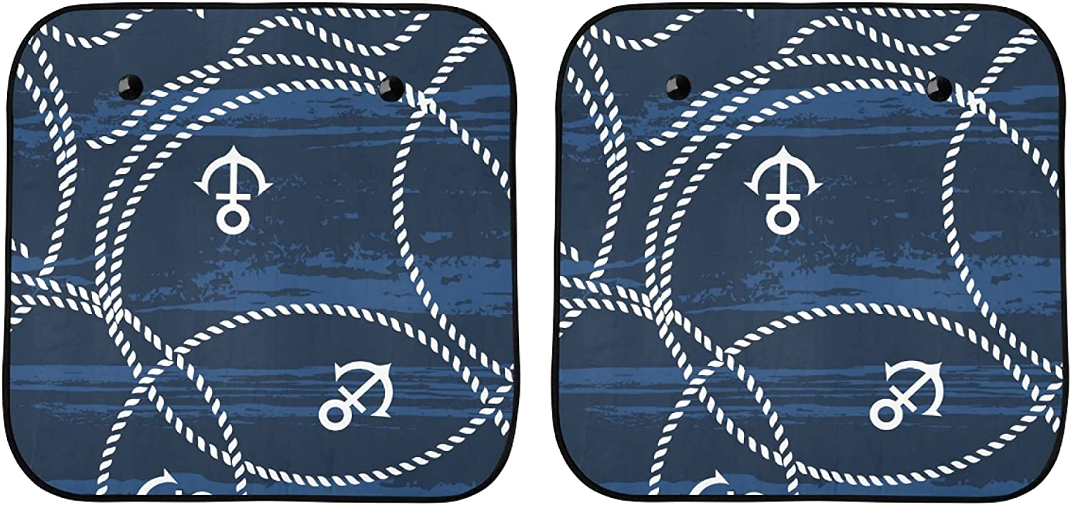 YPink Sun Shade New products world's highest quality popular for Car Window Ancho Nautical Baby Sea Super sale Ropes and