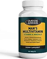 مكملات فيتامينات متعددة المهام للاستخدام اليومي للرجال. معزز تيستوستيرون فيتامينات A C D B1 B2 B3 B5 B6 B12. بيوتين،...