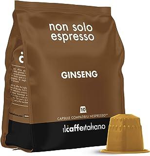 FRHOME - 50 Cápsulas compatibles Nespresso - Ginseng - Il