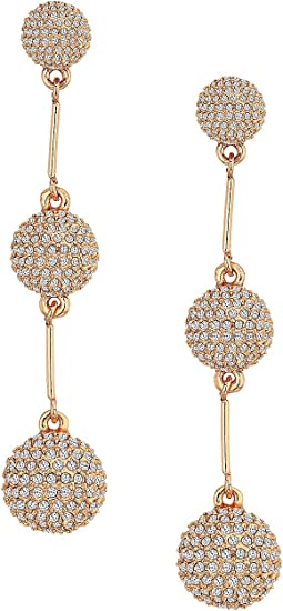 Kate Spade New York - Flying Colors Pave Dash Earrings