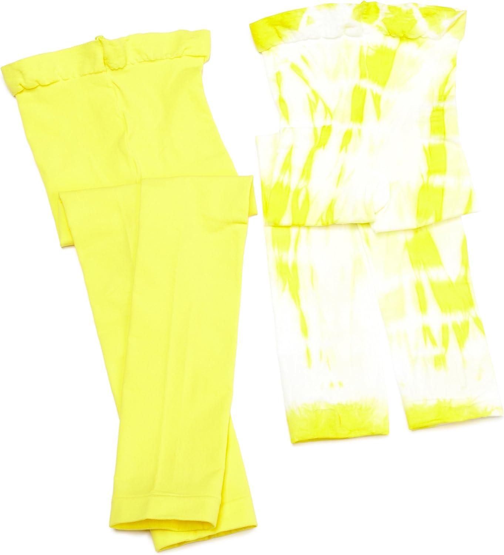 Jefferies Socks Little Girls' Neon Capri Two Pair Pack (Pack of 2)