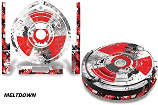 Skin Decal Wrap For iRobot Roomba 650/655 Vacuum Stickers Accessory Kit MELTDOWN
