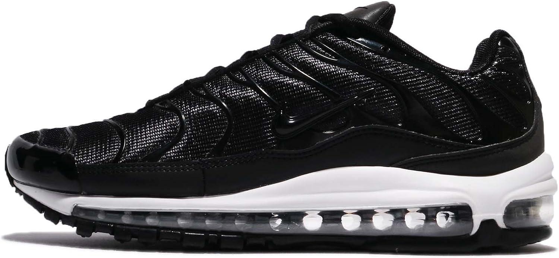 Nike Mens Air Max 97 Plus Mesh Running, Cross Training shoes Black 11 Medium (D)