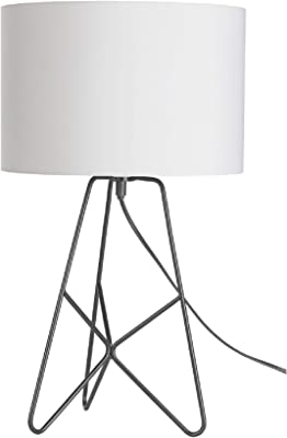 Mathias 3472018 Lampe, Métal, 40 W, Noir, D25 H52