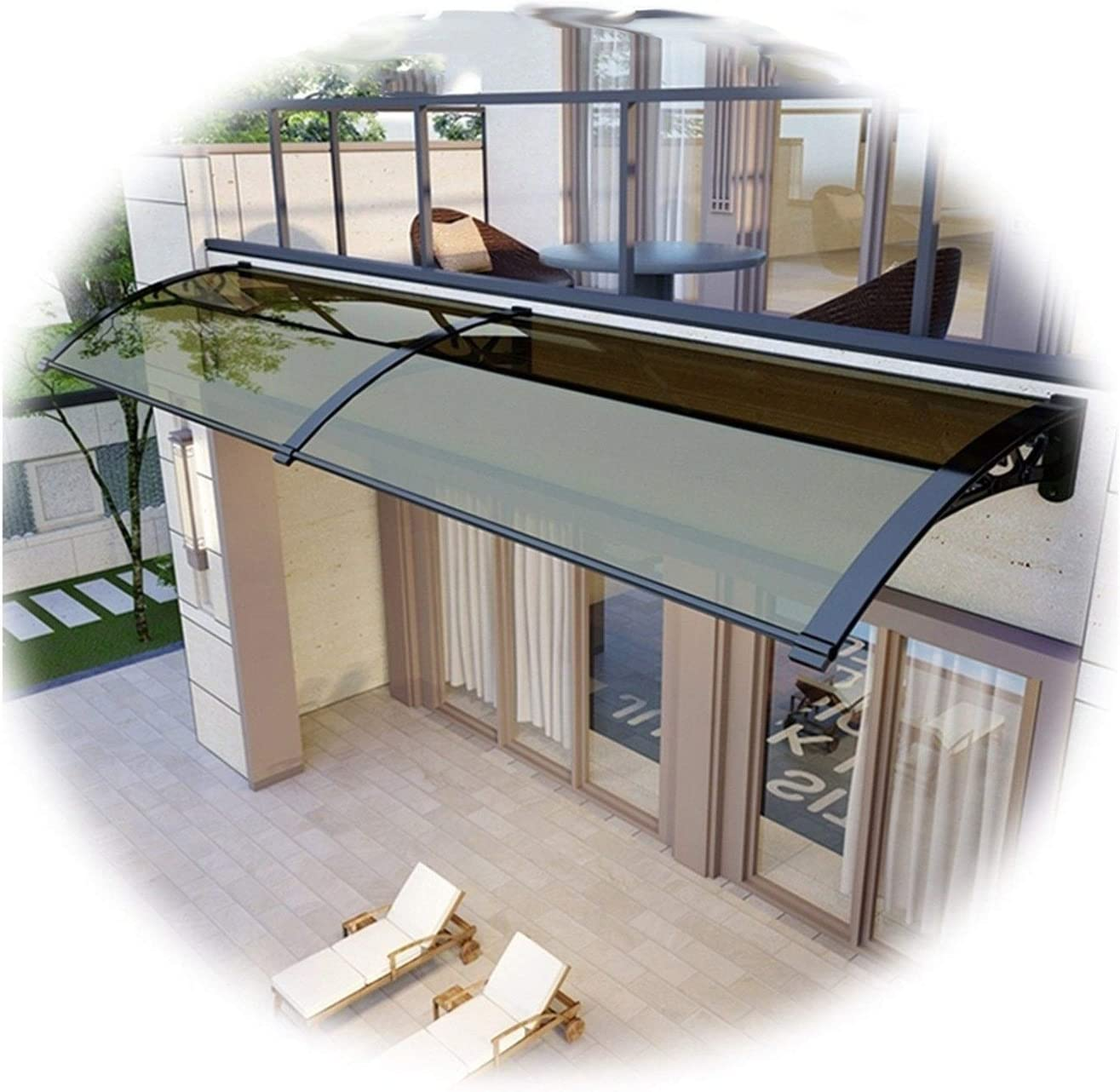 JIANFEI Door Free Shipping New Canopy Window Outdoor Popular brand in the world Polycarbonate Awning Sunshad