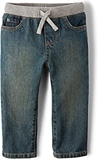 fleece lined jeans toddler boy