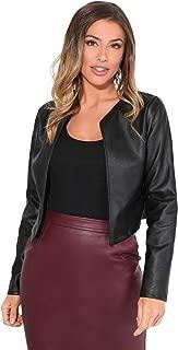 Best burgundy leather blazer Reviews