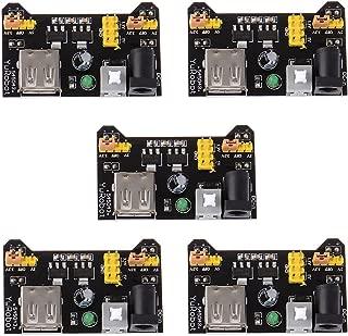 Anmbest PCS5 MB102 Breadboard Power Supply Module 3.3V/5V for Arduino Board Solderless Breadboard