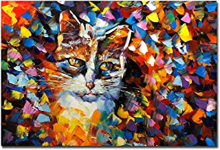 abstract animal canvas