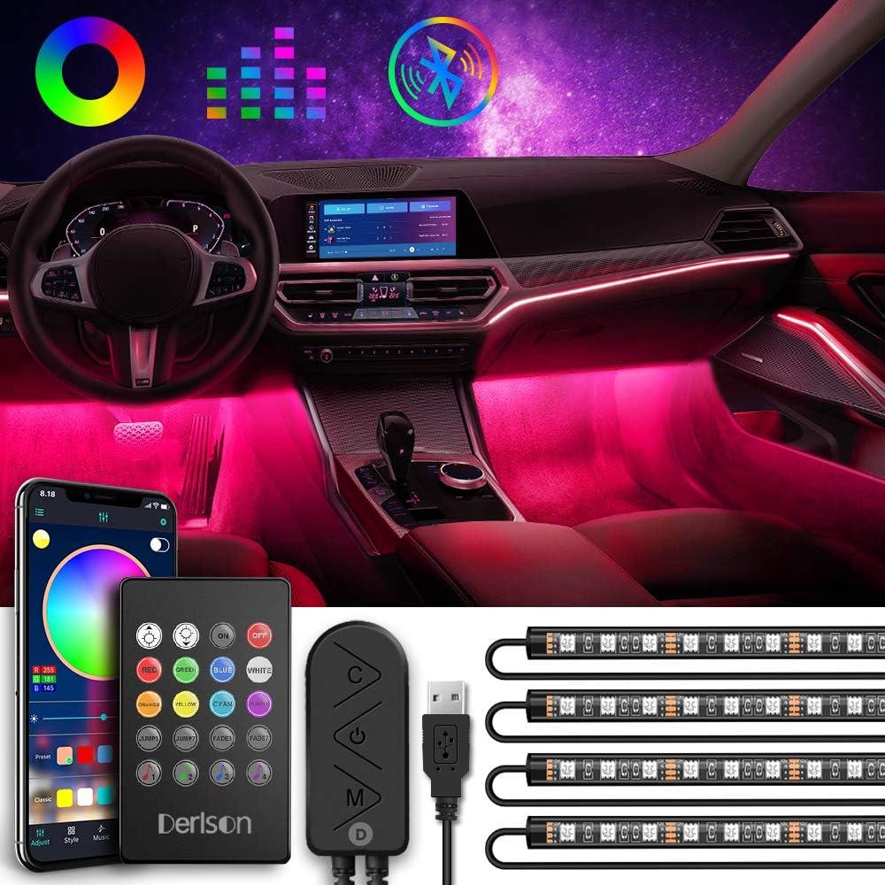 Alternative dealer Latest item Underdash Lighting Kit Derlson USB Bluetooth Multi-Colo Powered