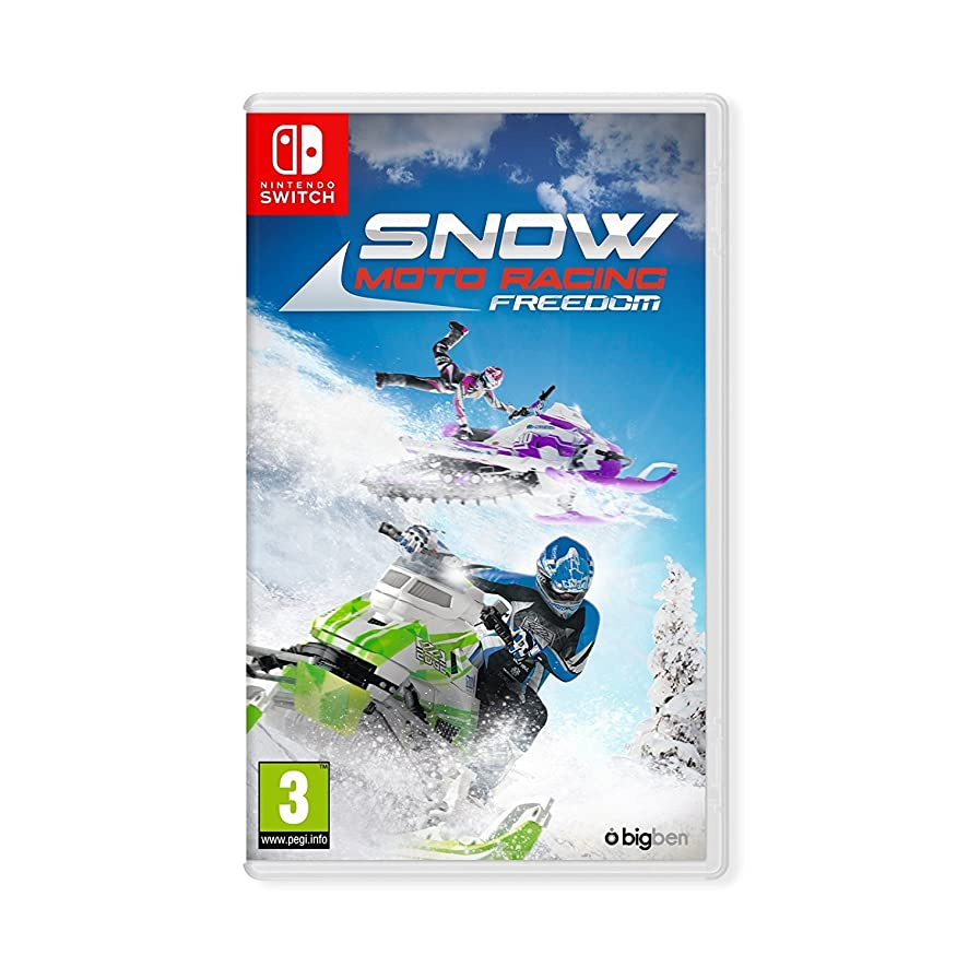 Snow Moto Racing Freedom (Nintendo Switch) UK IMPORT