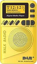 in-Car DAB/DAB+ Digital Radio Adapter Bluetooth Hands-Free Calling AUX Dual USB (Yellow)