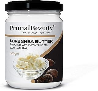 Primal Beauty - Manteca corporal de karité con vitamina E aceite