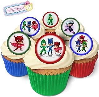 Best pj masks cupcake toppers uk Reviews