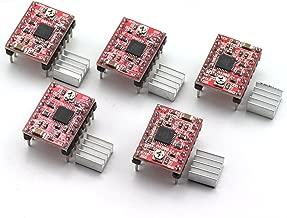 ZYAMY 5pcs HR-A4988 Driver Board 3D Printer Accessories Ramps 1.4 A4988 Stepper Motor Driver with Heat Sink